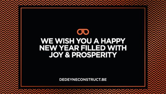 Best Wishes from our team - Dedeyne Construct