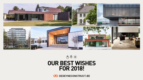 Our best wishes for 2018! - Dedeyne Construct